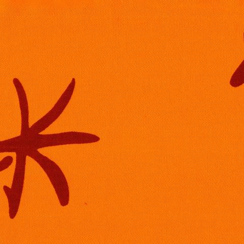 Housse futon - Jap orange 105