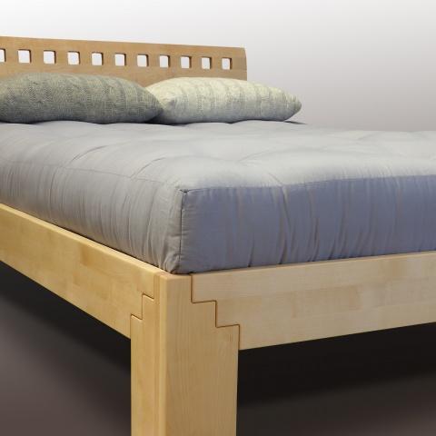 Lit pour futon en bouleua massif européen