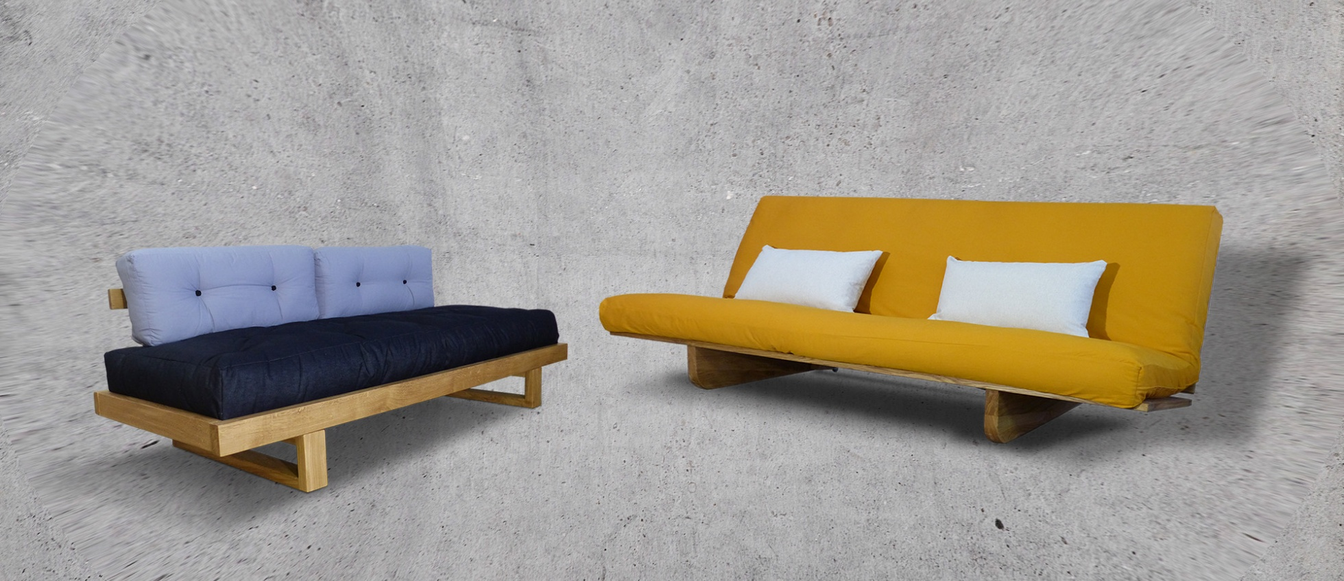 mode designer ff469 c41e7 Taifutons | Lits et Canapés Convertibles. Futon et Tatamis ...
